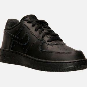 ☆Brand New Nike Air Force 1 Black 2.5Y youth kids☆